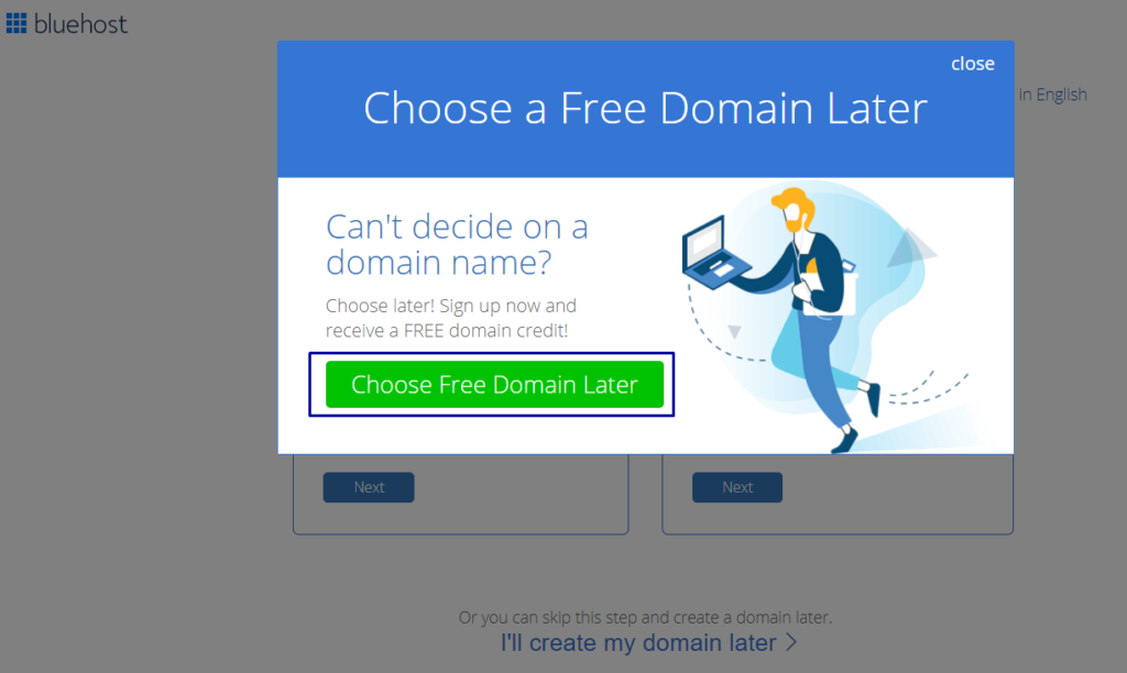 Choose Domain Later